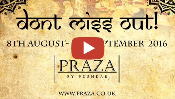 PRAZA Indian Street Food Festival Video